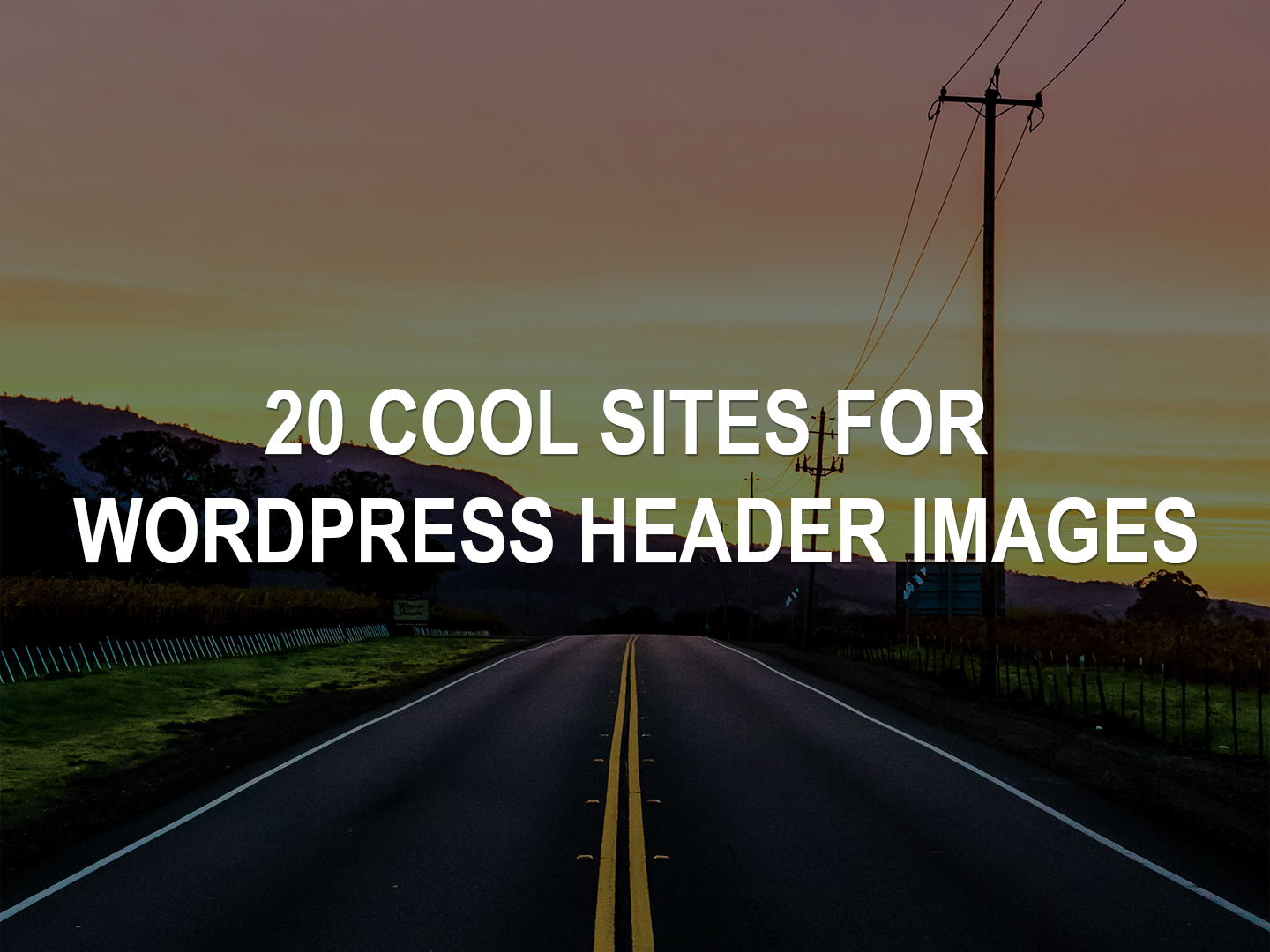 20 Websites For WordPress Header Images