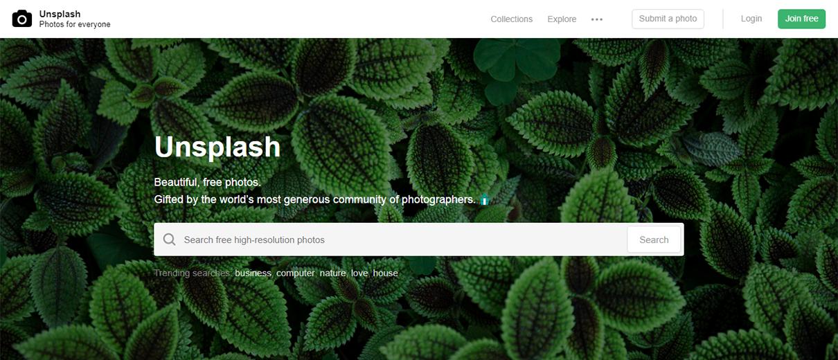 Free website header design