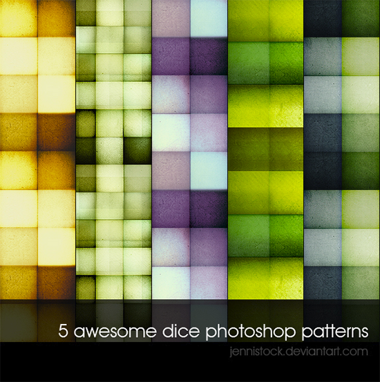 Dice-patterns