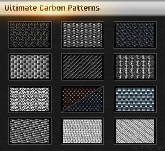 Ultimate carbon patterns