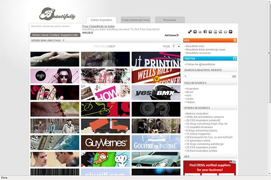 web design gallery