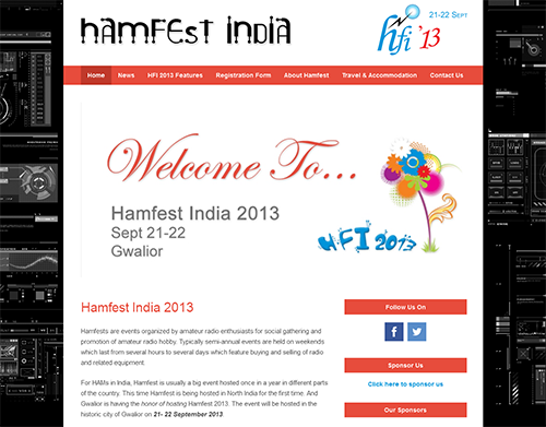Hamfest-India-2013-Genesis Based Website