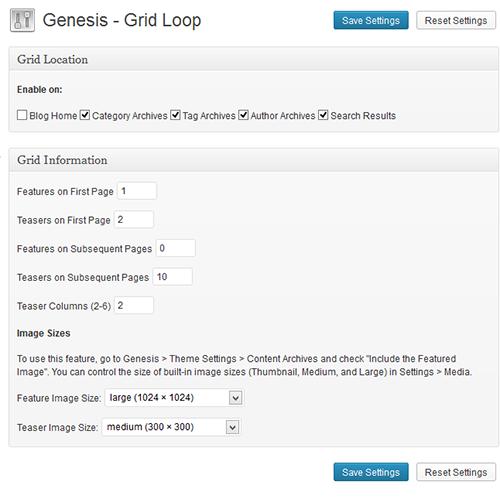 Genesis-grid-loop