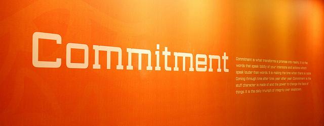 client's commitment