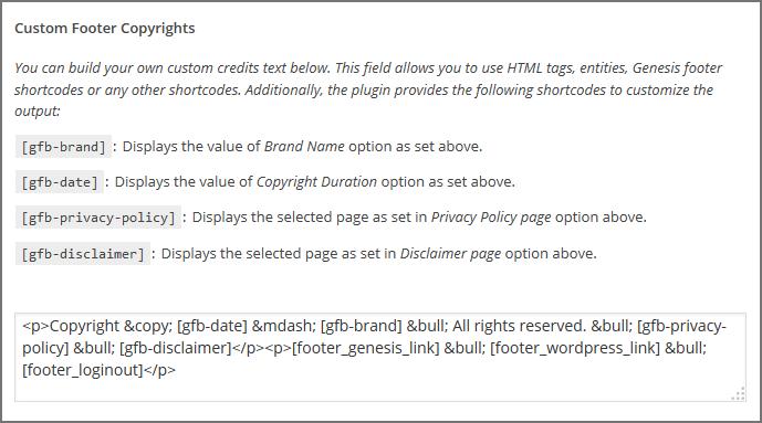 Copyrights-textarea