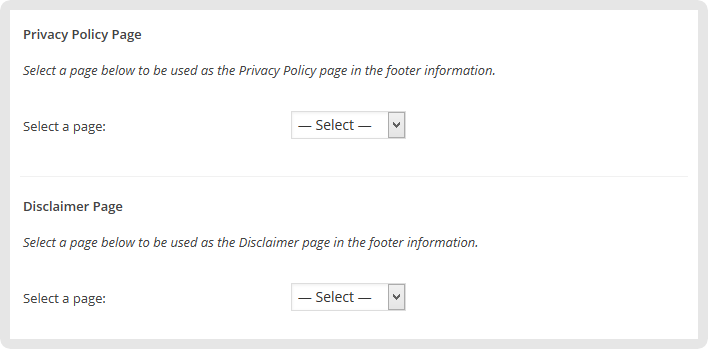 Privacy-policy And Disclaimer Page