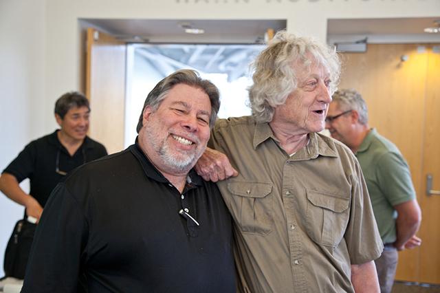 Rod Holt With Steve Woznaik