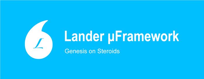 Lander-banner