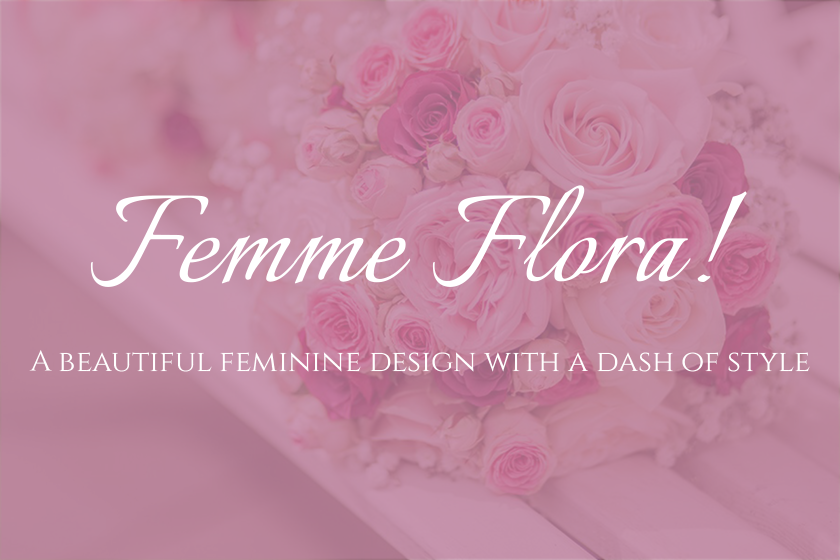 Femme Flora — A WooCommerce Ready Feminine WordPress Child-Theme For Genesis