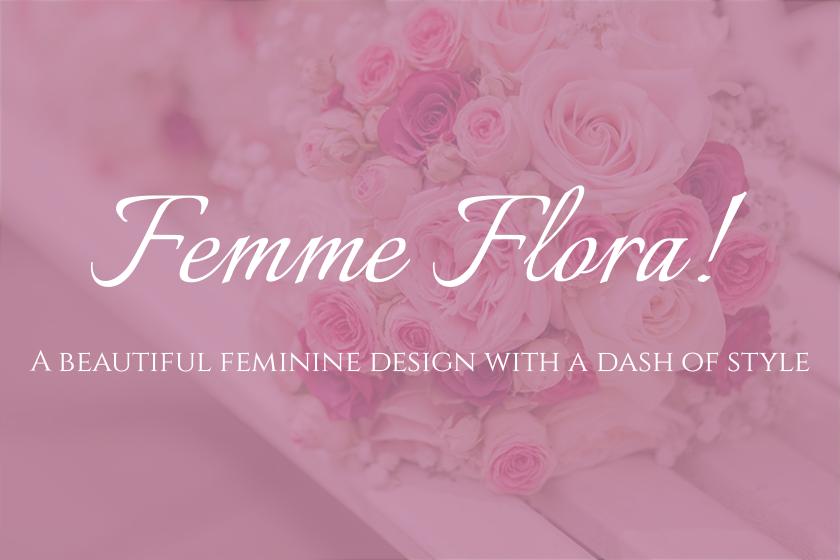 Femme Flora WordPress WooCommerce Ready Theme
