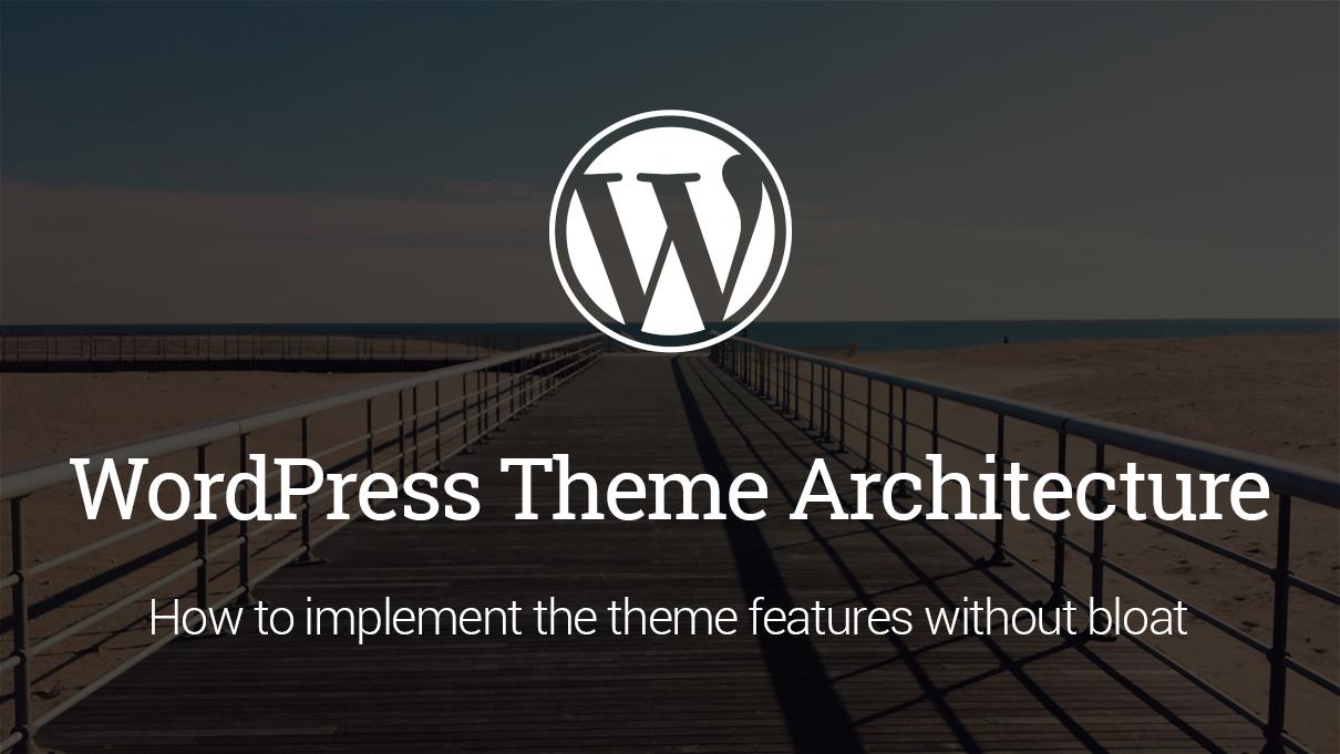 Wordpress-architecture