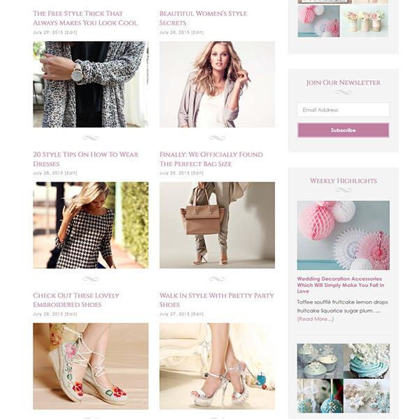 Trendy-blog-style
