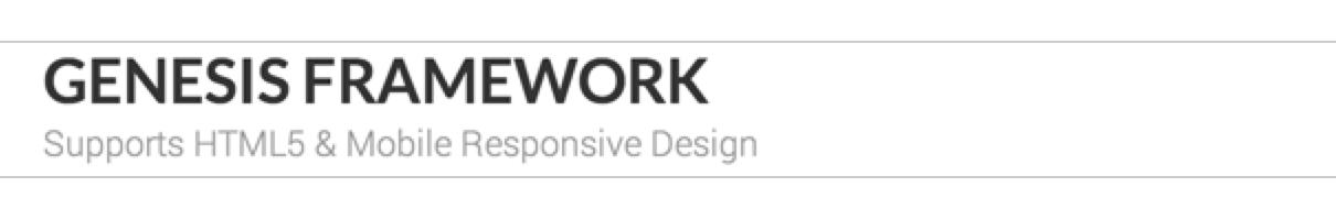 Genesis default header image