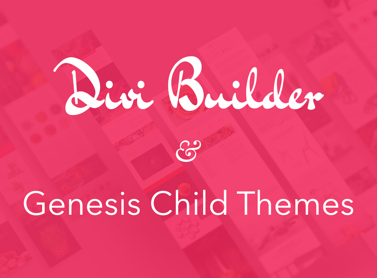 Divi-builder-with-genesis
