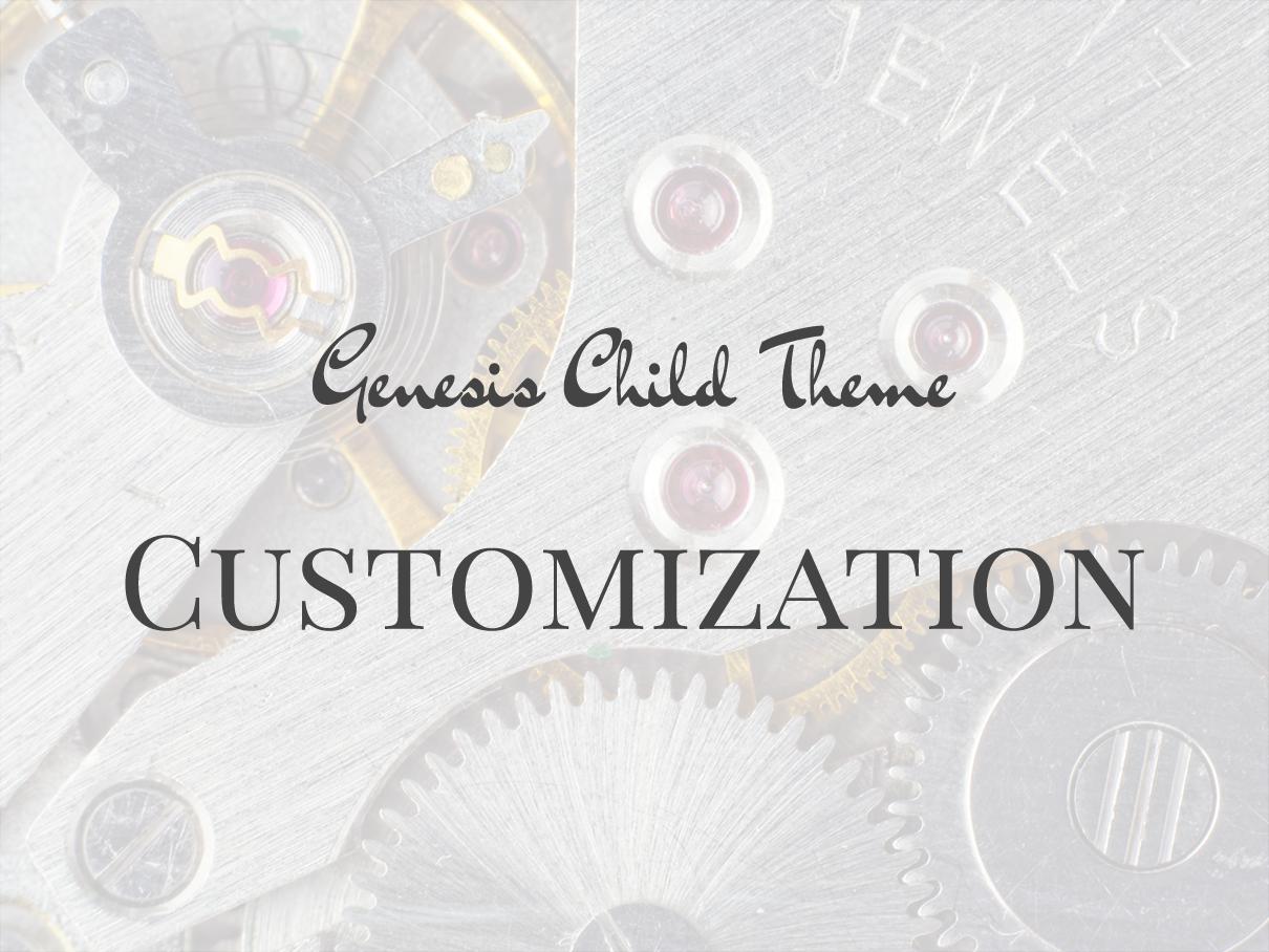 Genesis-chile-theme-customization