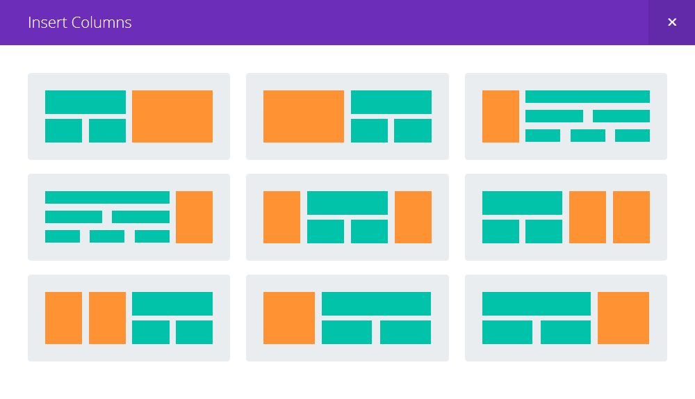 Divi Builder Layout
