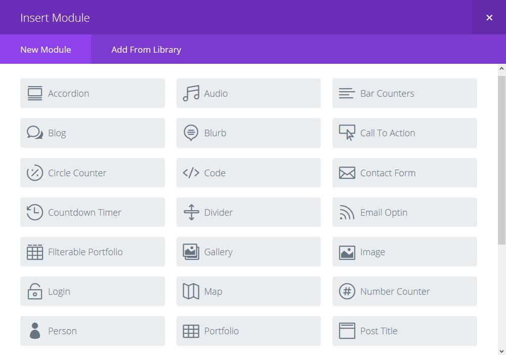 Content-modules