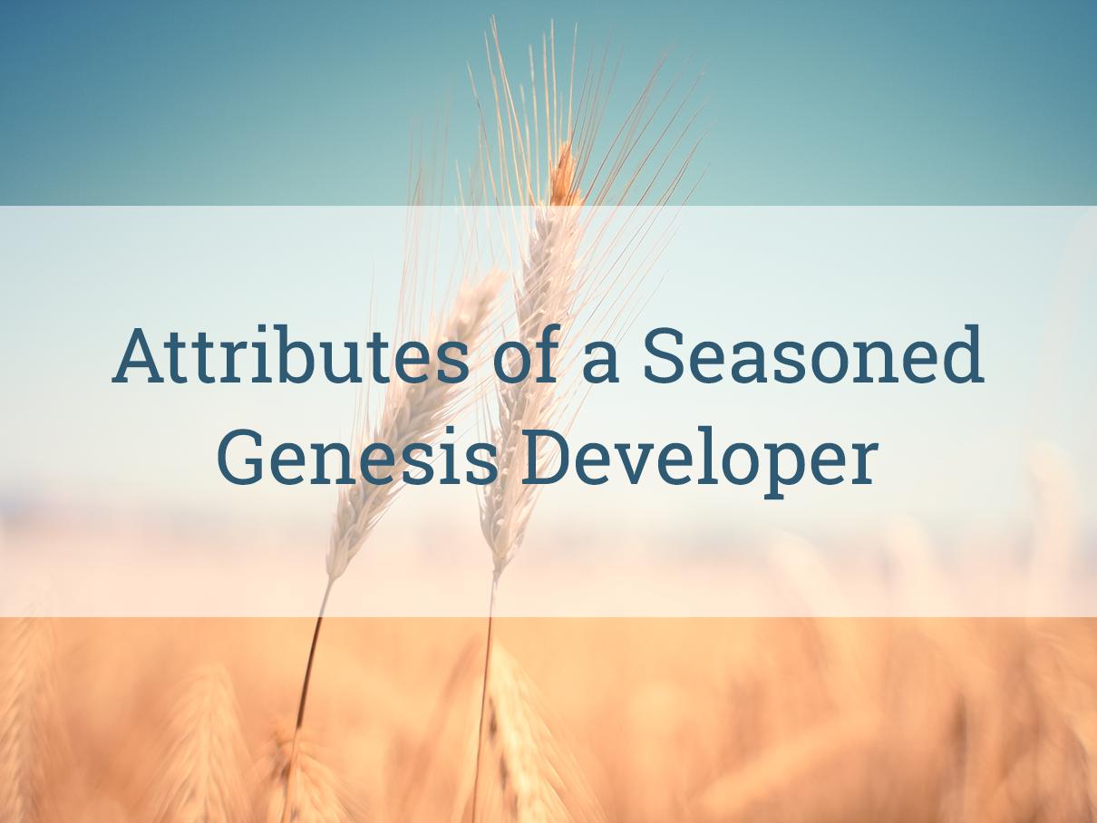 Attributes-of-genesis-developer