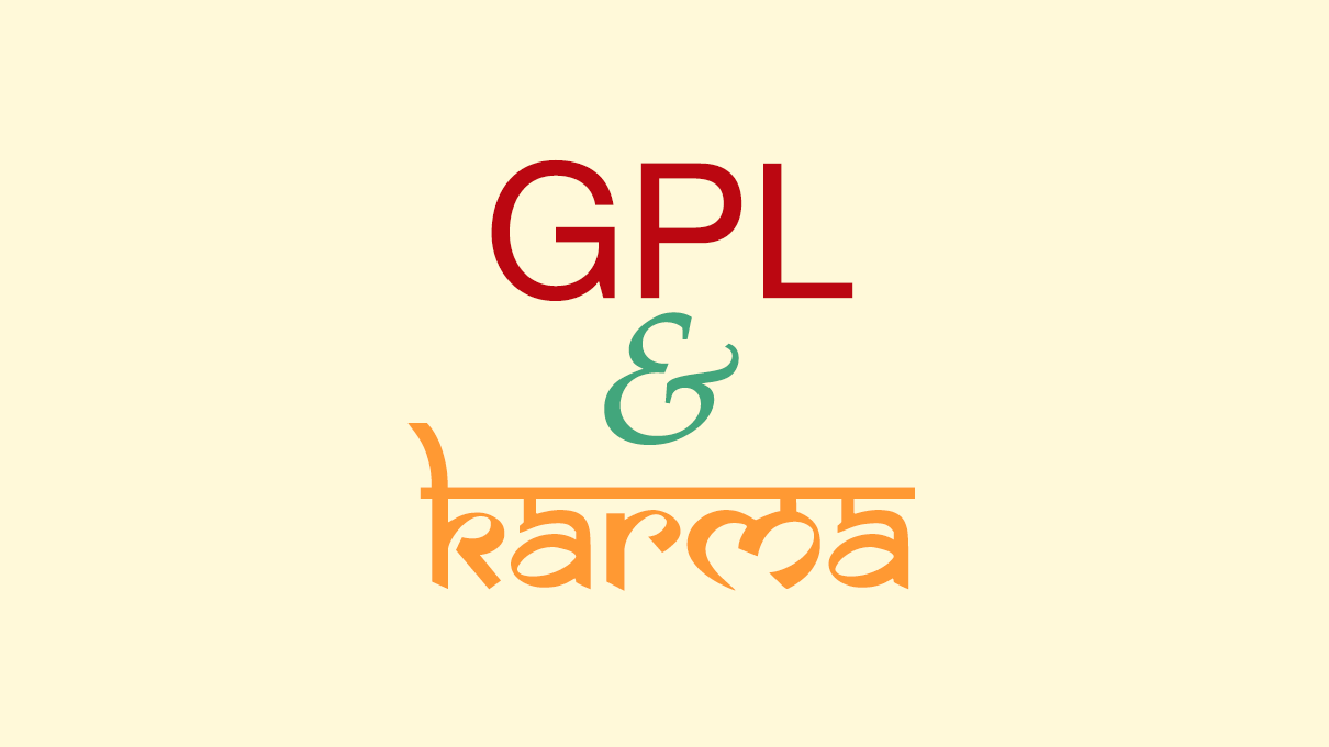 Gpl-and-karma