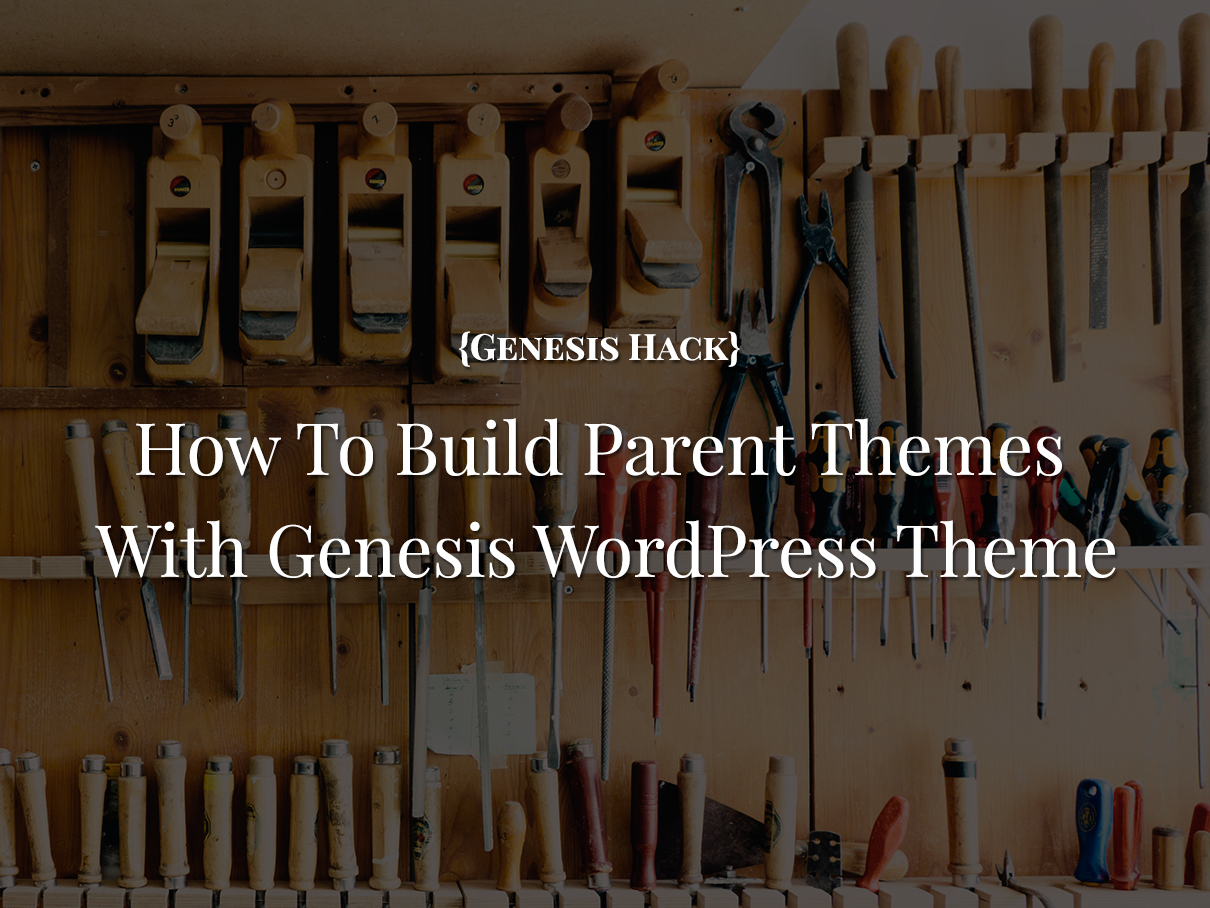 Building-wordpress-parent-theme