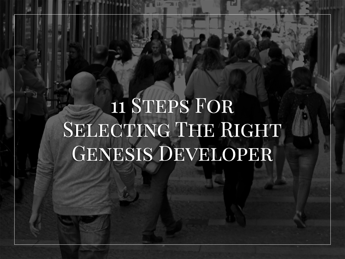 Wordpress-genesis-developer