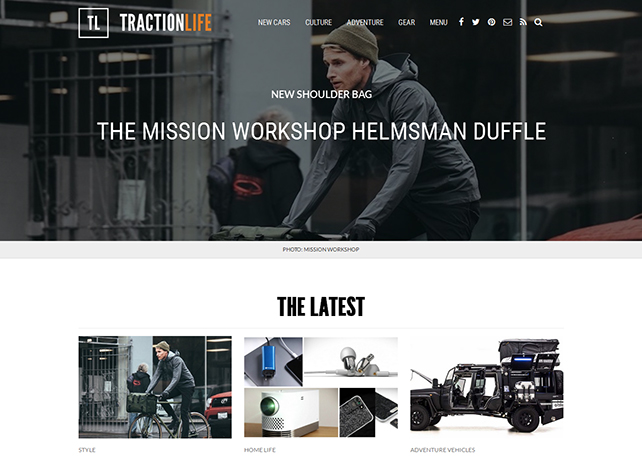 wordpress genesis design for tractionlife