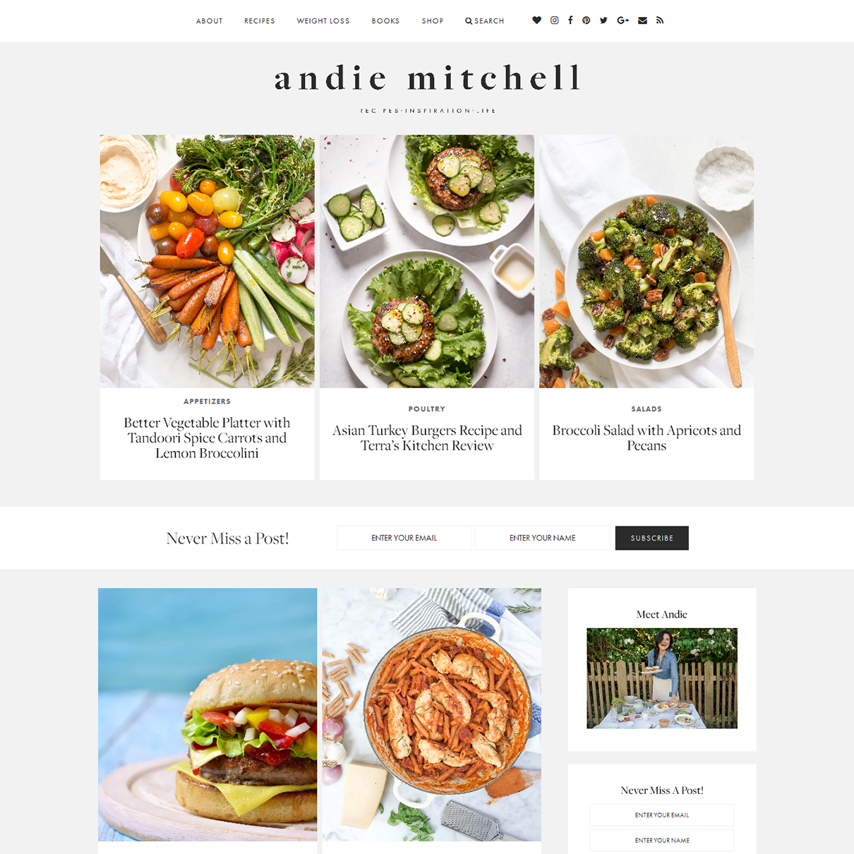 Andie Mitchell Nutritionist