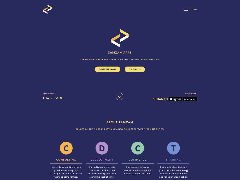 PSD To WordPress For Zamzam Apps