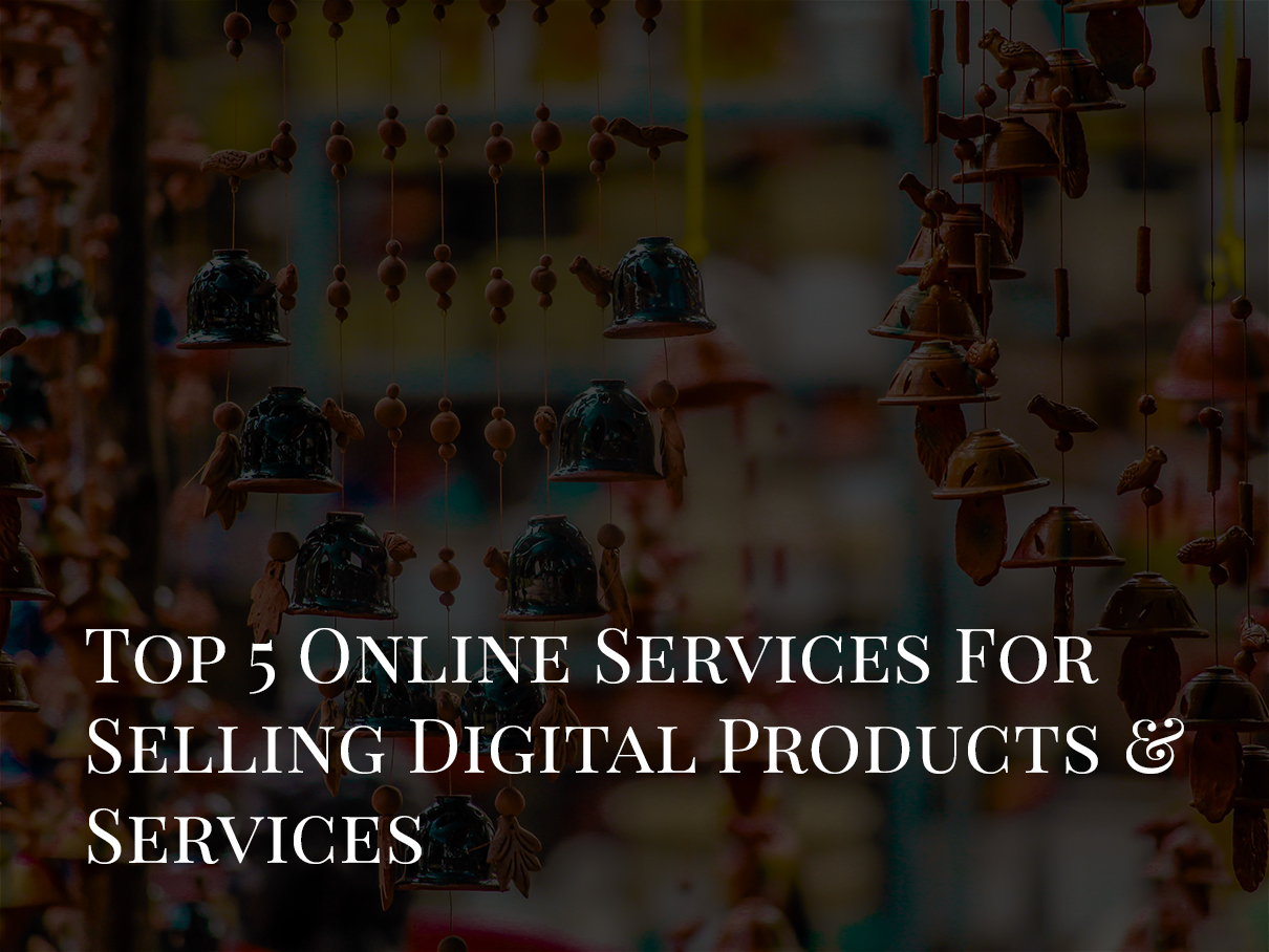 online services for selling digital products