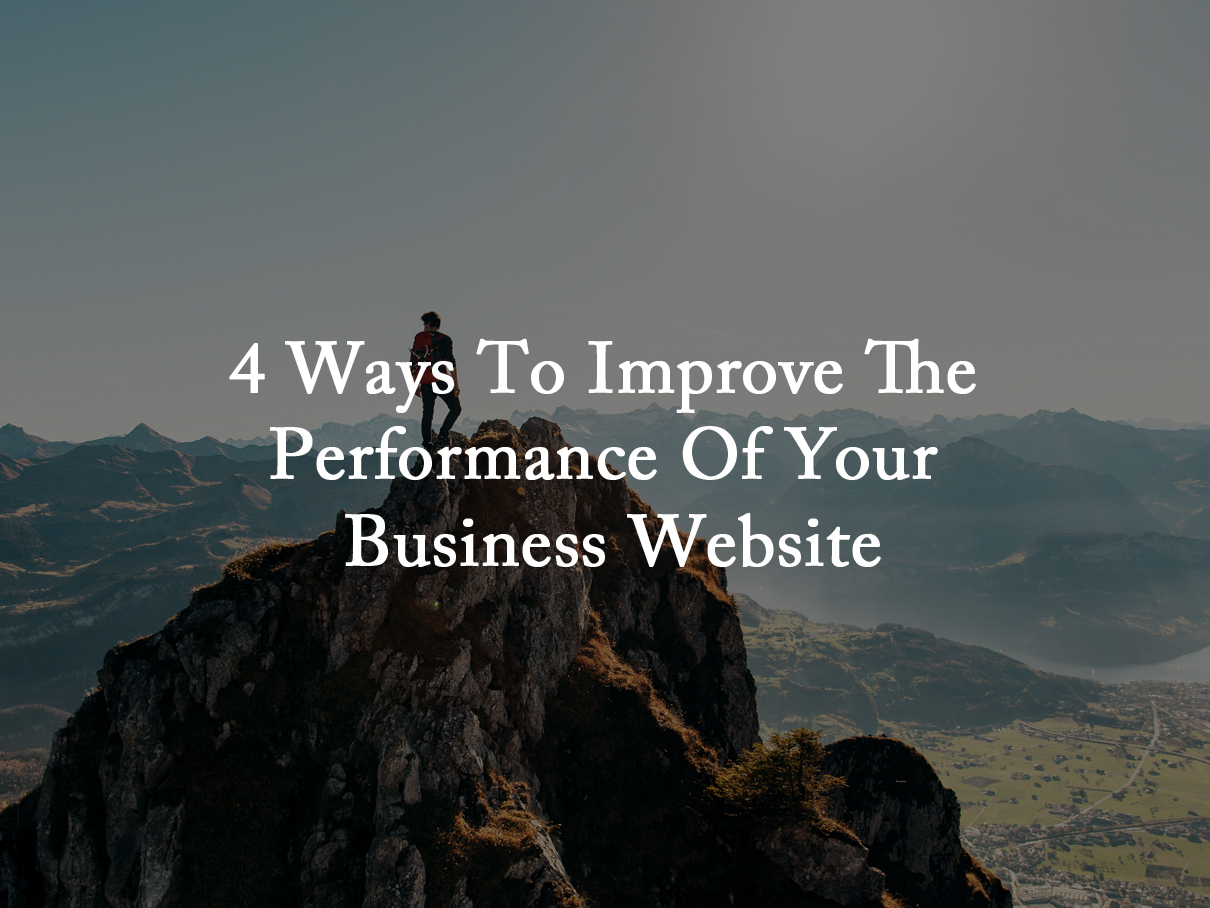 improve the performance of business website