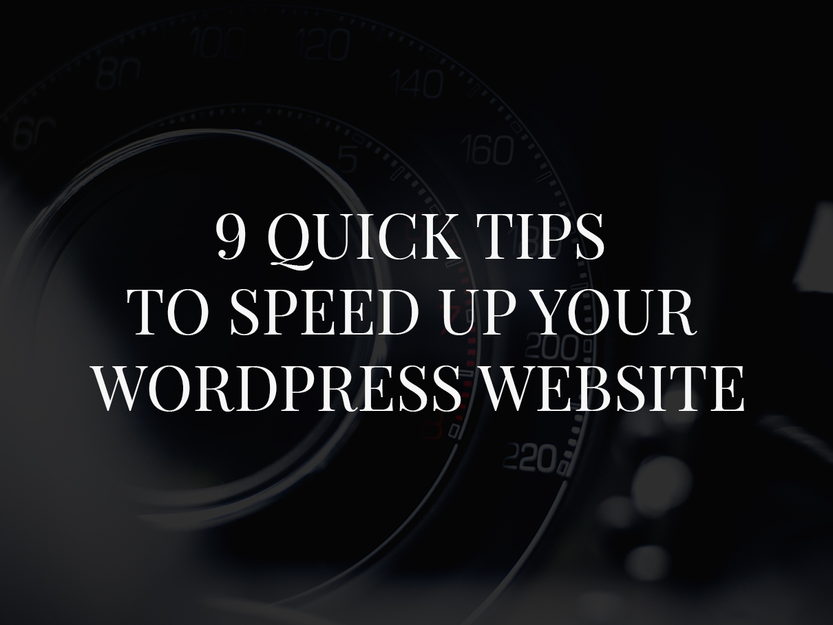 tips-to-speed-up-wordpress-website