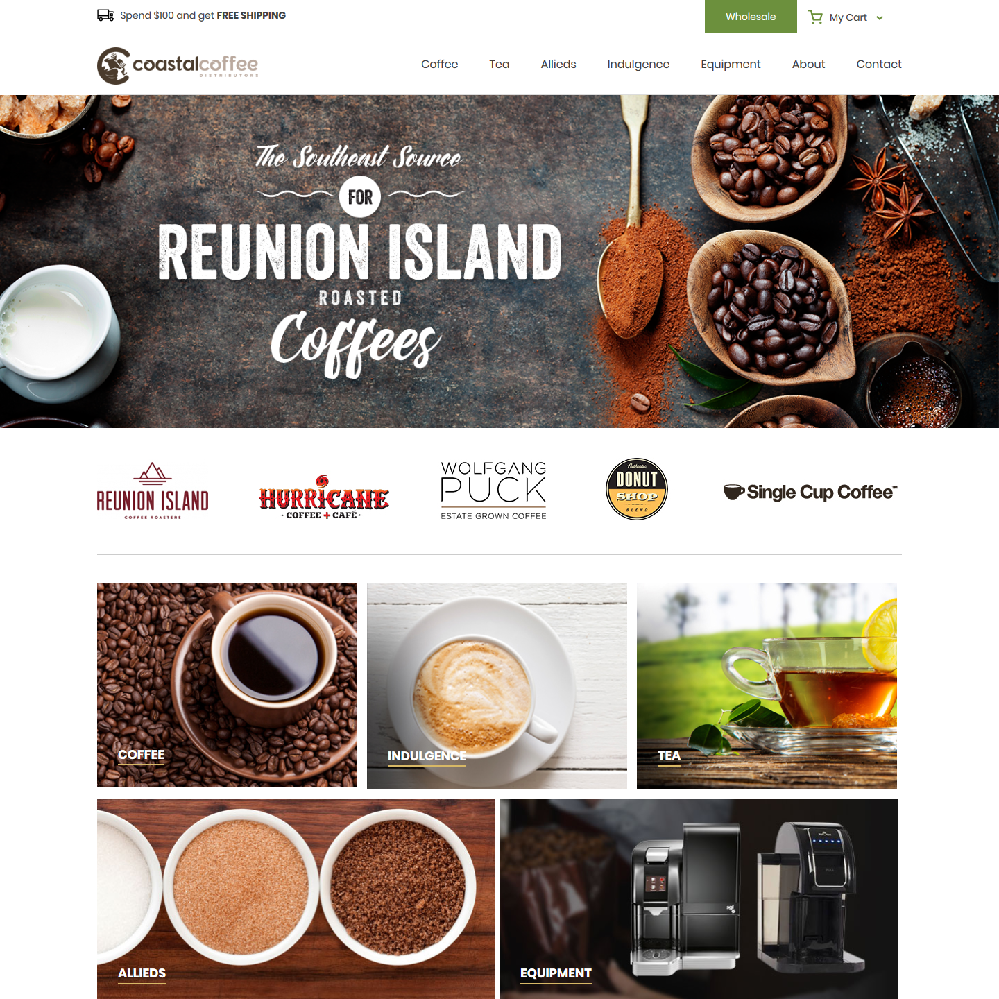 Coastal Coffee Dist - Online Coffee Store