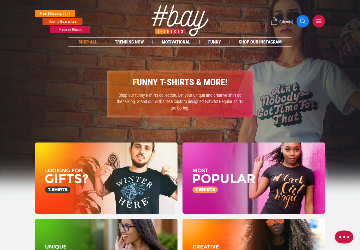 Hashtag Bay Online Shop
