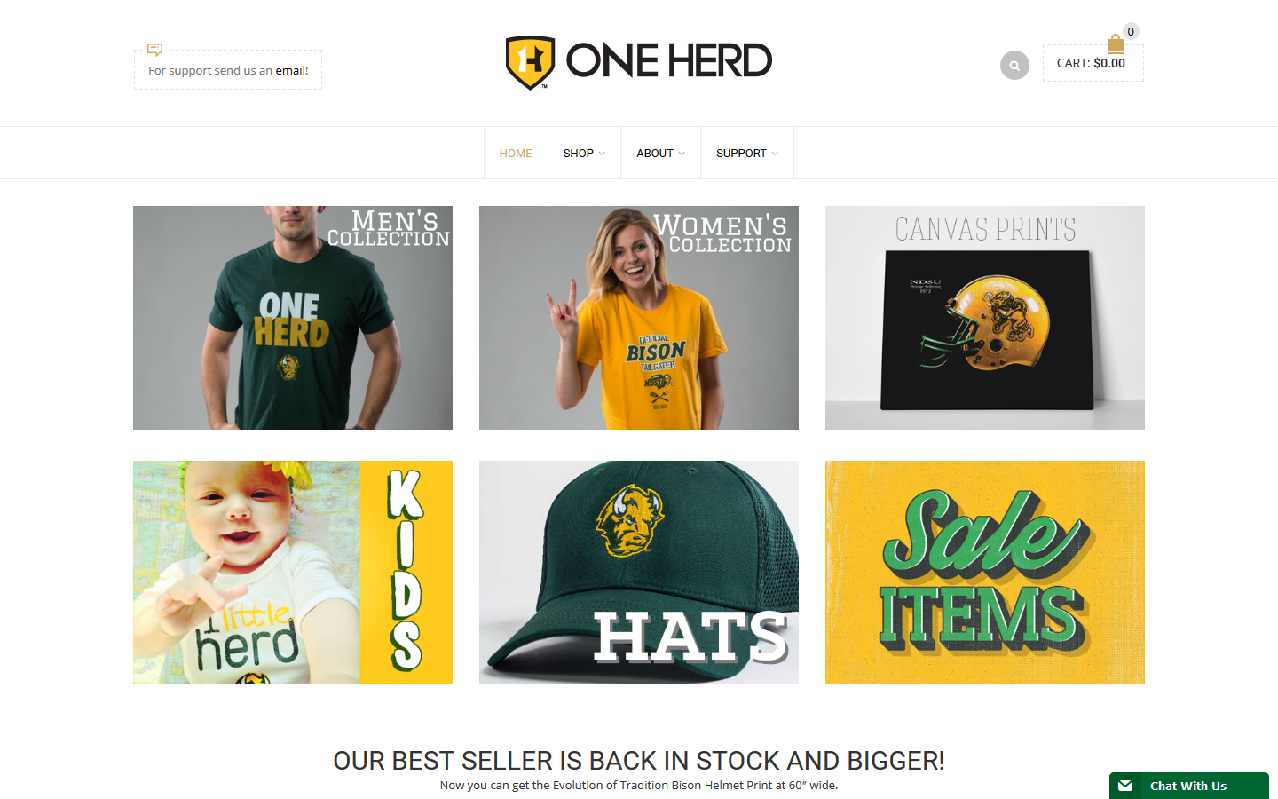 One Herd WooCommerce Shop