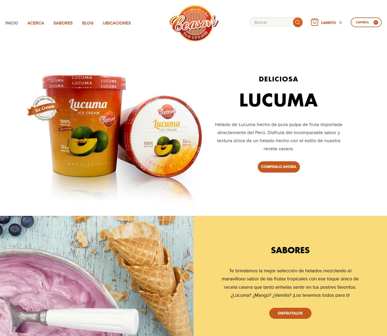 Heladitos Online Store