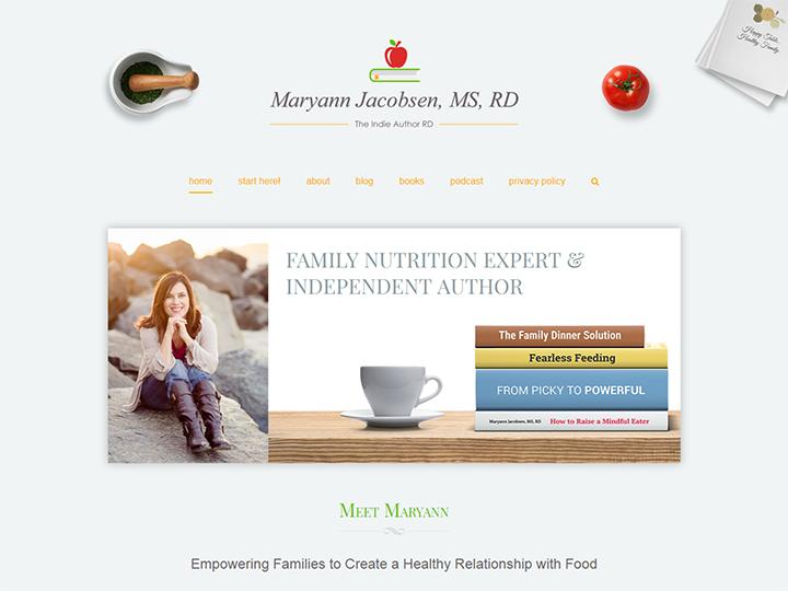 MaryannJacobsen.Com - Family Nutrition Expert