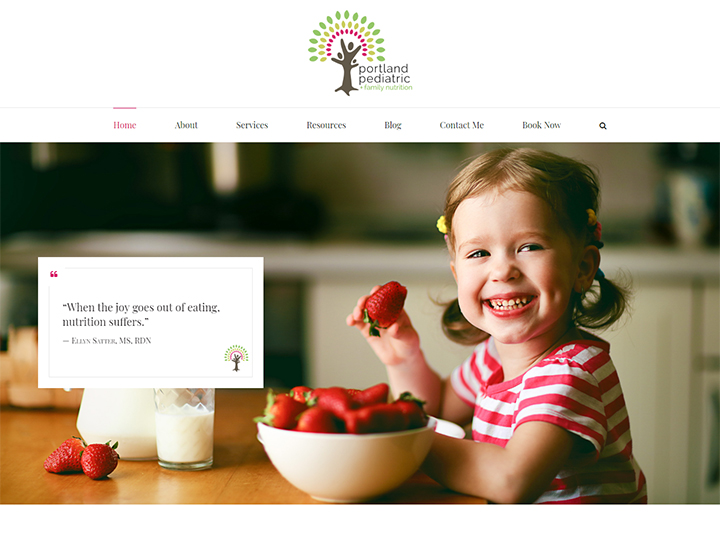 Website Redesign - PortlandPediatricNutrition.Com