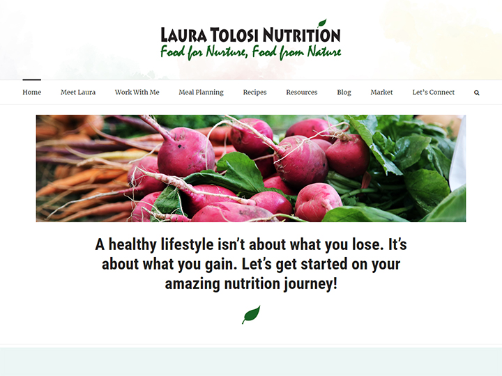 Laura Tolosi Nutrition